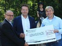 GERRY WEBER OPEN-Turnierdirektor Ralf Weber zu Gast auf dem Kiebitzhof
