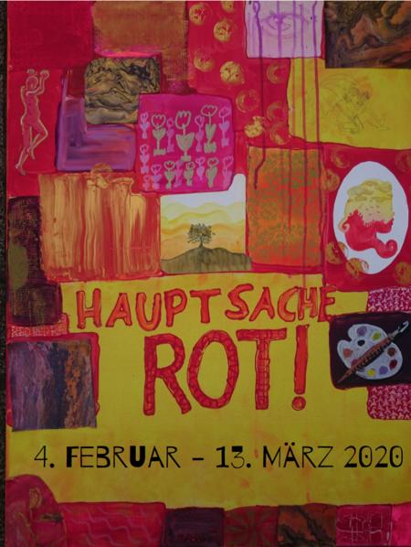"""04.02.: Ausstellung """"Hauptsache Rot!"""" in der KSK Wiedenbrück"""