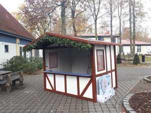 Weihnachtsmarktstand am Kiebitzhof