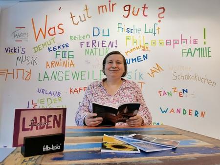 """25.10.: """"Lichttupfer"""", Lesung von Christiane Hornberg"""