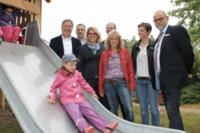 Neue Hügelrutsche im Hulahoop wurde eingeweiht